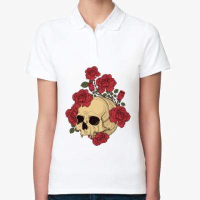 Женская рубашка поло The Dead Garden
