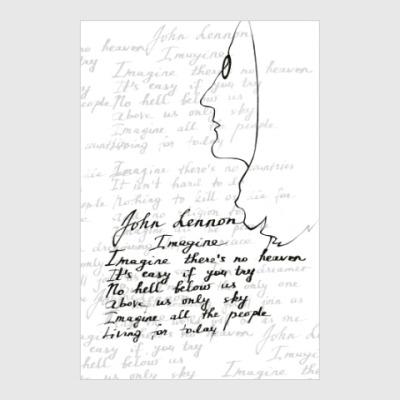 Постер John Lennon