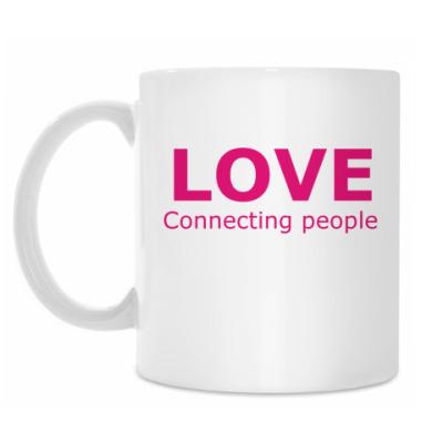 Кружка Любовь соединяет