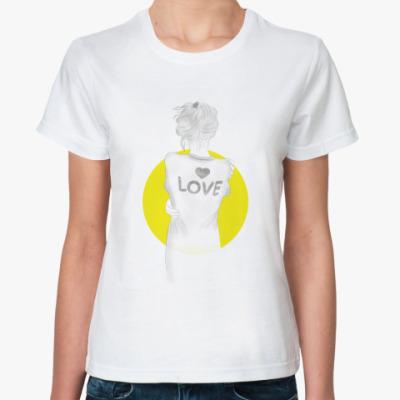 Классическая футболка Girl Love