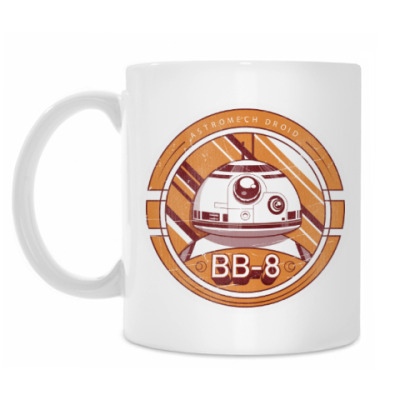 Кружка Дроид BB-8