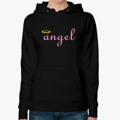 Женская толстовка худи Ангел