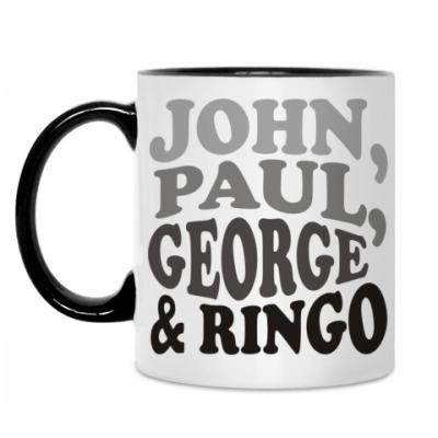 Кружка John.Paul.George&Ringo