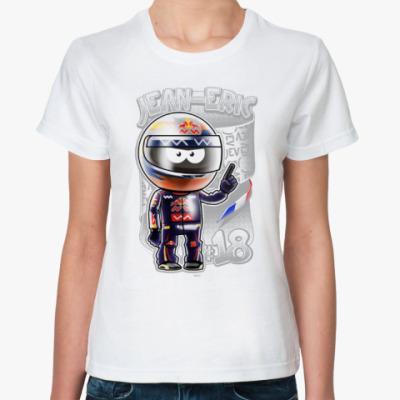 Классическая футболка Jean-Eric № 18