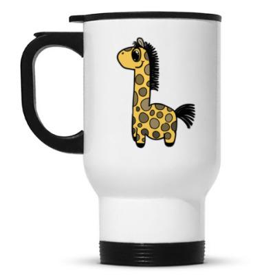 Кружка-термос Жирафик-Кружка-