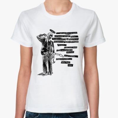 Классическая футболка Джон Трейн