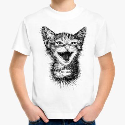 Детская футболка Нихао