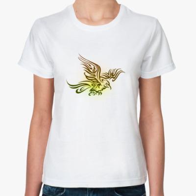 Классическая футболка 'Птица'