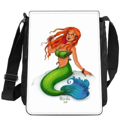 Сумка-планшет Рыжая русалочка
