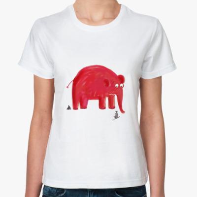 Классическая футболка elephant