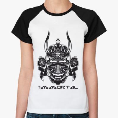 Женская футболка реглан  Бессмертный