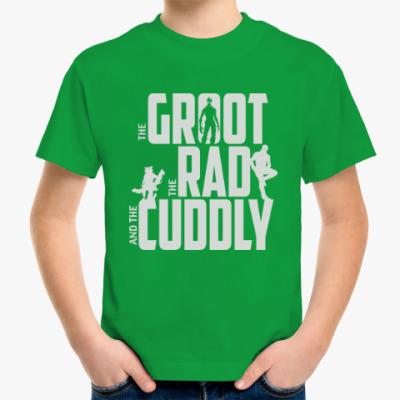 Детская футболка Грут, Рэд и Милый