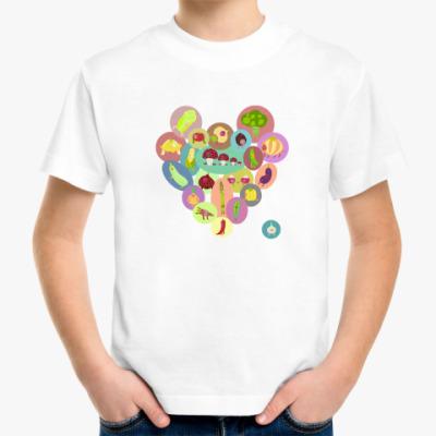 Детская футболка Овощи для детей