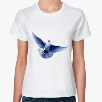 Классическая футболка Голубок