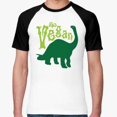 Футболка реглан Go Vegan