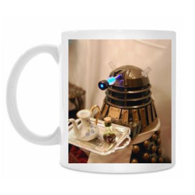 Кружка Dalek tea