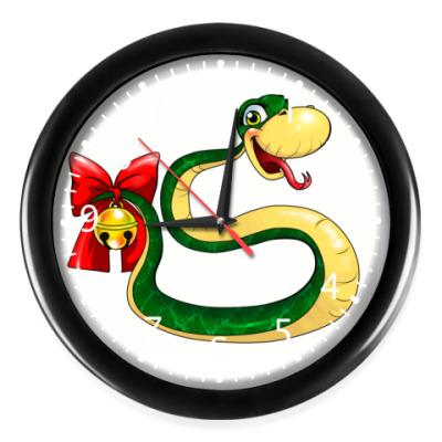 Часы Змейка