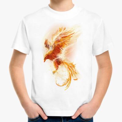 Детская футболка Птица Феникс Fenix bird