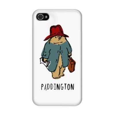 Чехол для iPhone 4/4s Paddington Bear