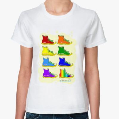 "Классическая футболка  футболка ""rainbow"""