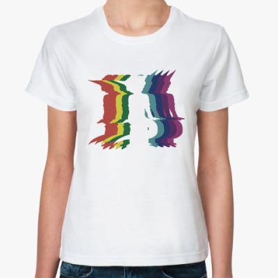 Классическая футболка Танцы пришельца