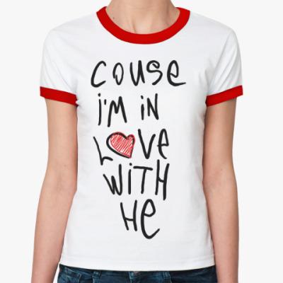 Женская футболка Ringer-T Attach