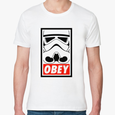 Футболка из органик-хлопка Obey Star Wars