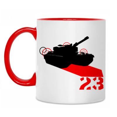Кружка Tank 23