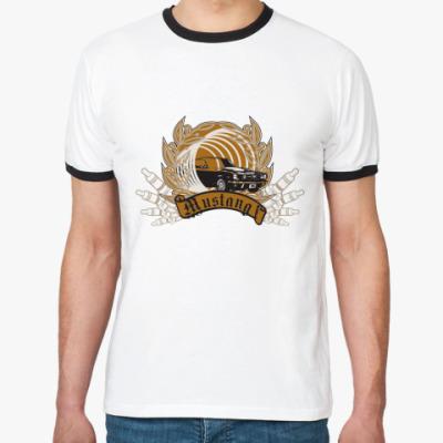 Футболка Ringer-T Mustang