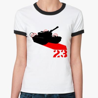 Женская футболка Ringer-T Tank 23