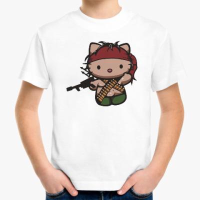 Детская футболка Китти Рэмбо