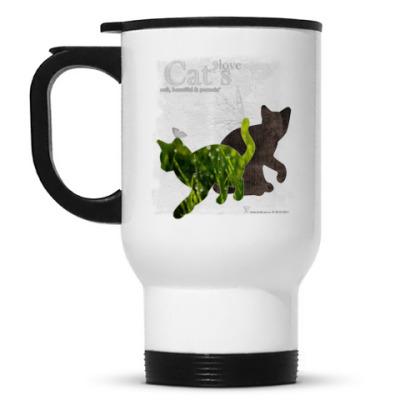 Кружка-термос Трава и кора