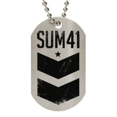 Жетон dog-tag Sum 41