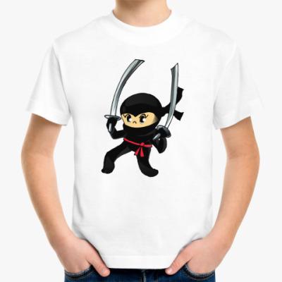 Детская футболка Ниндзя
