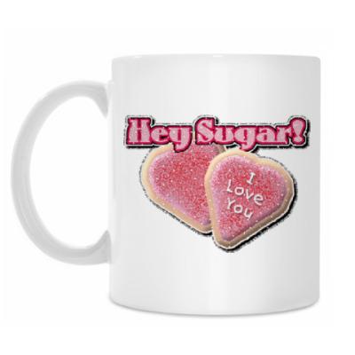 Кружка Hey Sugar!