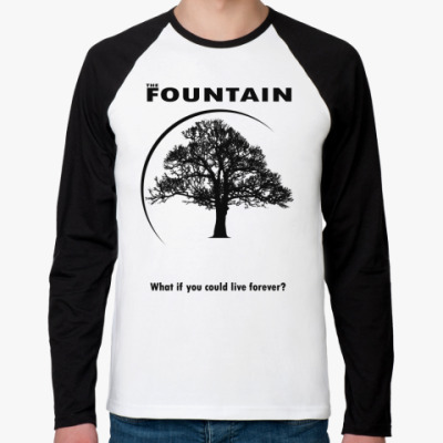 Футболка реглан с длинным рукавом The Fountain