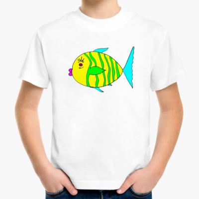"""Детская футболка Детская футболка """"Рыбец"""""""
