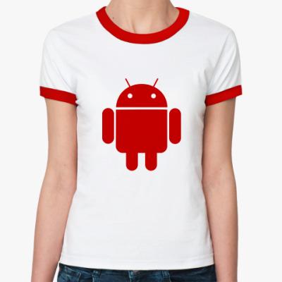 Женская футболка Ringer-T Гиперболоид