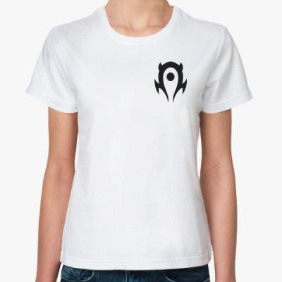 Классическая футболка Horde logo