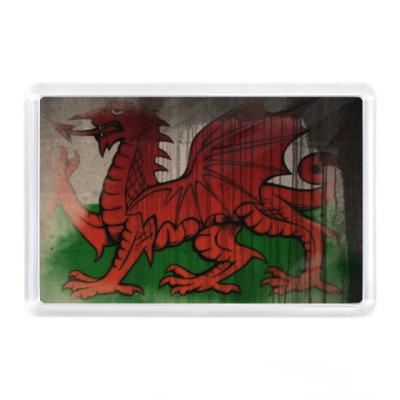 Магнит Уэльс, флаг