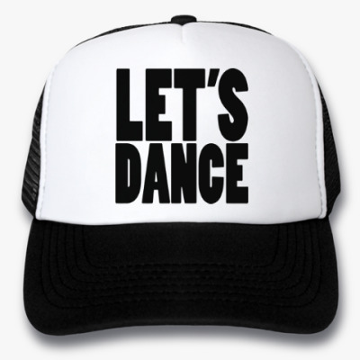 Кепка-тракер Let's dance