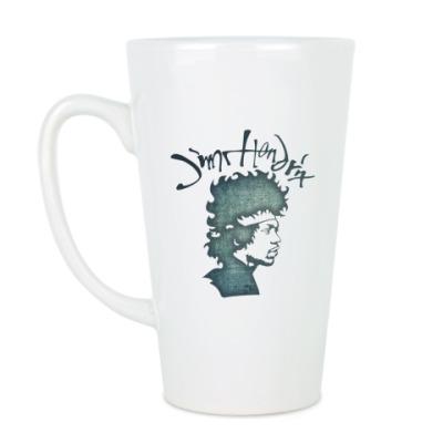 Чашка Латте Jimi Hendrix