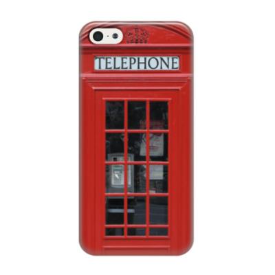 Чехол для iPhone 5/5s Английский телефон
