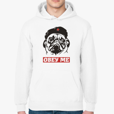 Толстовка худи Obey the doggy