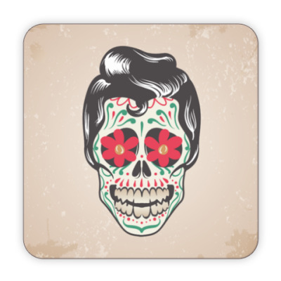 Костер (подставка под кружку) Skull Boy