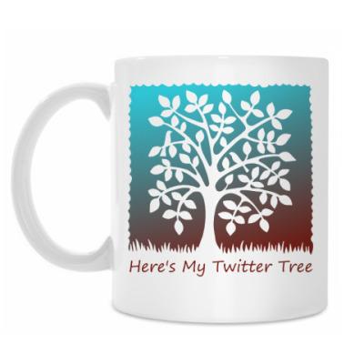 Кружка Twitter Tree