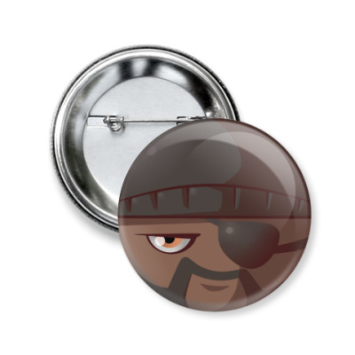 Значок 50мм Demoman [TF2]