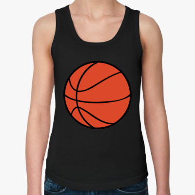 Женская майка basketball