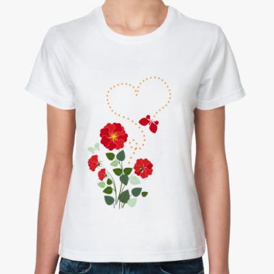 Классическая футболка Во саду ли, в огороде