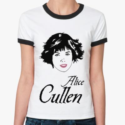 Женская футболка Ringer-T Alice Cullen